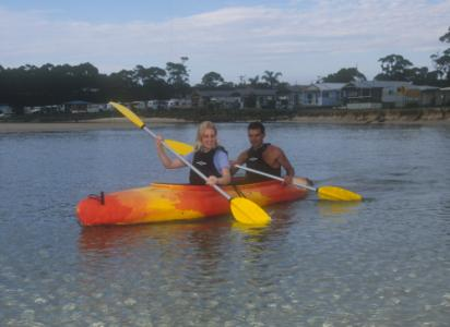 2 Up 4 0m Tandem Kayak By Australis Canoes And Kayaks
